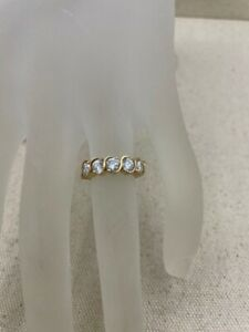 Lady's Gold Ring 14K Yellow Gold 2.6dwt Size:5.3 (PC0000525)