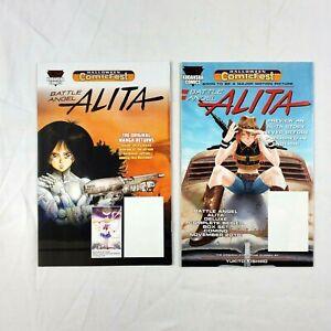 Battle Angel Alita Halloween Comic Fest 2017 & 2018 Set Kodansha Comic Book RARE