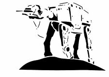 High Detail Star Wars At-At Airbrush Stencil - Free UK Postage