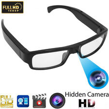 MS20B Mini 1080P HD Camera Flat Lens Glasses Video Recorder w/Peer-to-Peer Wifi