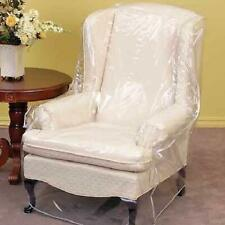 Furniture Protector Armchair Recliner Cover Glass Clear Vinyl Seamed Edges New