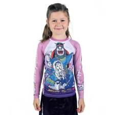 Tatami Alice In Jiu Jitsu Land Kids BJJ Rash Guard Childrens Top Girls MMA