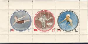 Dominican Republic - 1960 - SC C115-17 - NH/H - 2 Miniature sheets