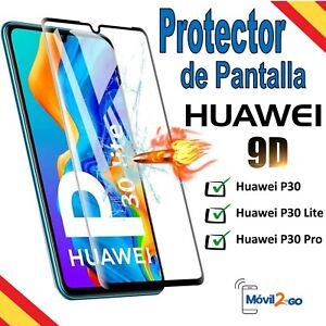 Protector Pantalla Huawei P30 / P30 Lite / P30 Pro Cristal Templado 9D Completo