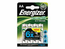 Energizer 638589 AA 2.3Ah Rechargeable Batteries - 4 Count