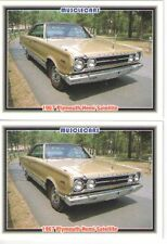 1967 Plymouth Satellite 426 Hemi baseball card sized cards - Must See - lot of 2