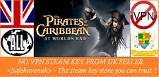 Pirates of the Caribbean: At World's End Steam key NO VPN Region Free UK Seller