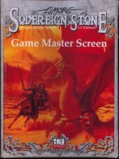 D20 Sovereign Stone RPG GM Screen MINT AD&D White Silver PUblishing
