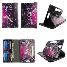 """7 INCH TABLET CASE 7"""" UNIVERSAL FOLIO STANDING COVER SARKLY BUTTERFLY"""