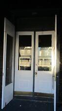 EXTERIOR FRENCH DOORS ENTRY DOOR WITH CUSTOM SCREEN DOORS