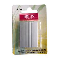 Craie de tailleur minérale blanche BOHIN 32 X 46 mm neuve - couture - mercerie