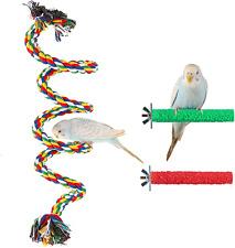 Lssh Bird Perch, Bird Rope Perch, Bird Perch Stand, Bird Cage Accessories, Bird