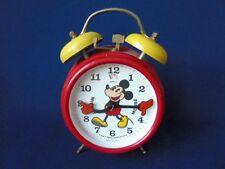 Vintage German, Bradley Mickey Mouse Alarm Clock - Working Order
