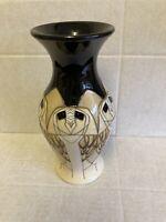 """Moorcroft """"Tengu"""" Vase 226/7 Vicky Lovatt RRP £220 Owl Christmas Gift 🎁🎁"""
