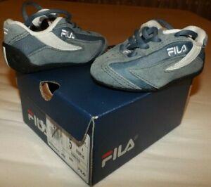 FILA SNEAKER BABY SPORTSCHUHE Sport Shoes - Grösse 20 - Blau - WIE NEU