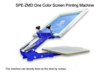Table Board Fixed Single 1 Color 1 Station T-shirt Screen Printing Machine