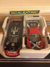 Scalextric Twin Pack: Ferrari F430 & Maserati MC12 *Mint Condition*