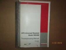 CASE- IH AFS Universal Receiver Model SB2400 Troubleshooting Manual Original QEM