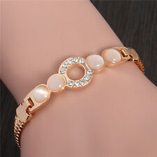 New Fashion Women's Vintage Gold  Plated Bangle Punk Cuff Bracelet Jewelry