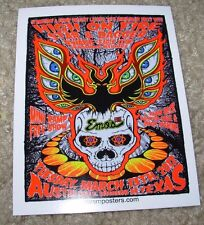 HIGH ON FIRE Gig Concert Poster STICKER New like cd lp art LINDSEY KUHN