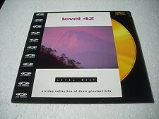 LEVEL 42  / LEVEL BEST VIDEOS  Europe Laserdisc Pal version