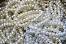 wholesale  jewelry 10pcs 1row elastic Glass imitated Pearl charm bracelets  FREE