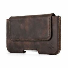 Snakehive® Apple iPhone 5/5S/SE Vintage Leather Belt Pouch Utility Phone Case