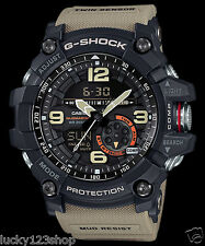 GG-1000-1A5 Brown Men's Compass Casio G-Shock Analog Digital MASTER G MUDMASTER