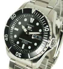 New SEIKO 5 SPORTS MEN'S AUTOMATIC DIVERS STYLE 100M SNZF17J1