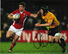 Shane Williams Signé À La Main Photo 10X8 PAYS DE GALLES & LIONS RUGBY 2317