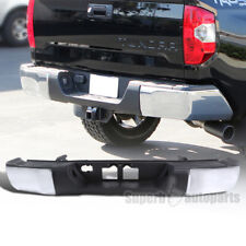 2014-2016 Toyota Tundra Rear Bumper Step Chrome Finish w/ Top Step Pad