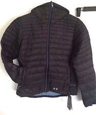 NWT Womens UA Under Armour Four Pines Down Jacket S Small Stealth Gray sx70