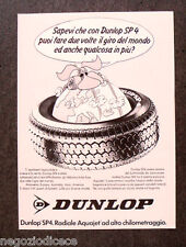 [GCG]  N895 - Advertising Pubblicità - 1979 - DUNLOP SP 4 , RADIALE AQUAJET