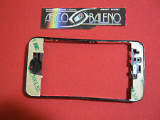 FRAME per TOUCHSCREEN DISPLAY per APPLE IPHONE 3G 3GS+Biadesivo 3M CORNICE