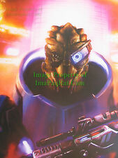 "Mass Effect Garrus Vakarian Lithograph SDCC 2012 18"" x 24"" NEW no Pin Holes"