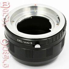Kodak Voigtlander DKL Lens To Olympus Panasonic Micro 4/3 M43 Adapter E-P5 GF6