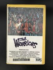 The Warriors Ex-Rental Vintage Big Box VHS Tape English with dutch subs