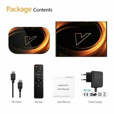 Android TVBOX 9.0 Amlogic S905X3 Wifi 1080P BT 4K Set Top Box 4GB 64GB 32GB