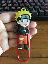 Uzumaki Naruto standing silica gel bookmark bookend clip Book Marks marks manga