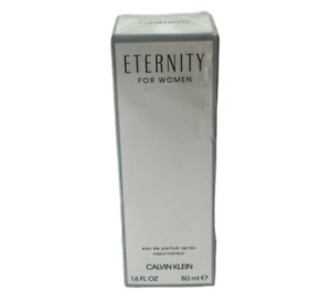 Calvin Klein, Eternity For Women Eau De Parfum Spray 1.6 Fl Oz. New With Box Sea