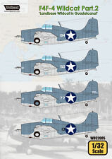 "WOLFPACK WD32005 Part.2 ""Landbase Wildcat in Guadalcanal"" for F4F-4 Wildcat 1:32"
