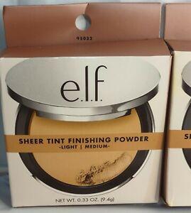 e.l.f. Beautifully Bare, Sheer Tint Finishing Powder, Light/Medium, 0.33 oz