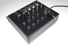 BBJ Sim RACING PC USB 27 Caja de botón de función Serie Pro Con Interruptor de Llave Negro