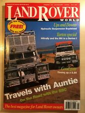 LandRover World January 1996 Issue 23
