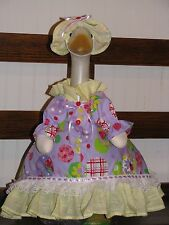 Goose Clothes: Summer Treat in Lavender by Silly Goose Made in the Usa