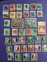 1948-1949 GERMANY Russian SOVIET OCCUPATION ZONE 37 Pcs Mix Stamps