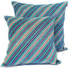 "MISSONIHOME St Tropez T70 Linen Velour Upholstery Pillow Cover 16x16"" - 20x20"" 16""x16"""