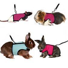 More details for trixie rabbit guinea pig rat ferret harness & lead breathable soft pet leash set