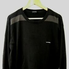 Kickers Jumper Sweater Size L Black and Grey