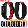 For Xiaomi Mi Band 3 Smart Watch Replacement Silicone Sport Wristband Strap USA